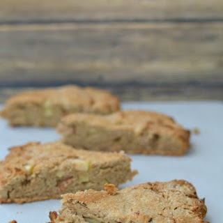 Gluten Free Chestnut, Apple, and Bacon Scones