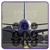 Airplane Lock Screen HD