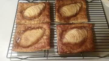 Pear Ginger Pastry