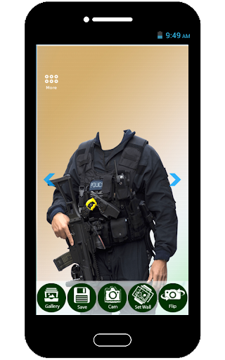 Police Photo Suit Maker