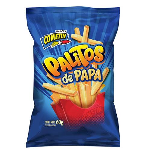Snack Cometin Palitos De Papa 60Gr Palitos de papa