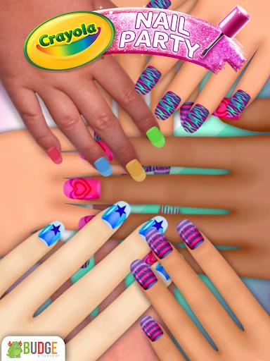 Crayola Nail Party: Nail Salon 1.2 screenshots 1