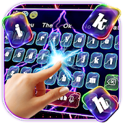 Colorful Lightning Screen Keyboard