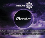 Psyked in the City & Reboot presents Moonshine : Bazinga Bar