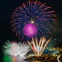 Fireworks in Arenzano di