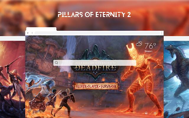 Pillars Of Eternity 2 HD Wallpapers New Tab