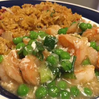 Instant Pot Shrimp with Lobster Sauce.