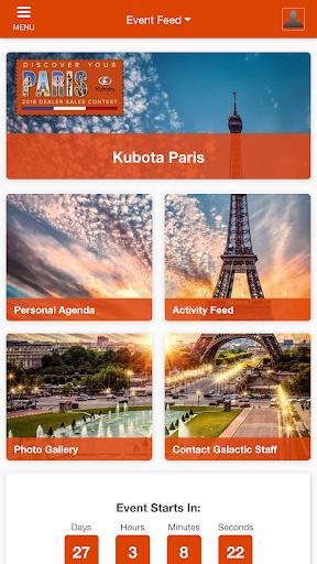 Screenshot for Kubota Paris in United States Play Store