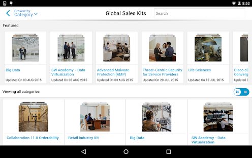 Cisco SalesConnect- screenshot thumbnail