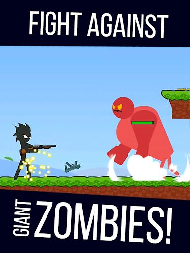 Stickman Zombie Shooter: Fight Platformer 0.2.5 {cheat|hack|gameplay|apk mod|resources generator} 4