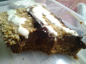 Photo: Azukis pastis de PCS con base de bizcocho sarracín. Os recomiendo, como dice Raquel en su libro, comerlo al día siguiente o incluso dos días después....como està !!!!!! Pilar Brualla