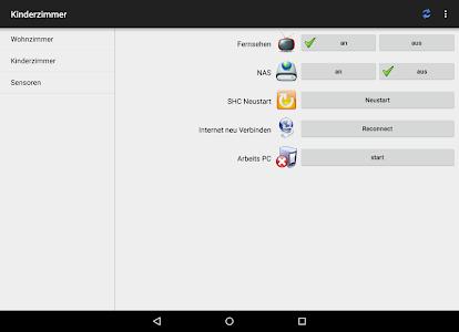 shc SmartHome Control screenshot 6
