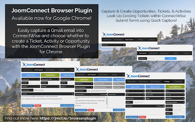 JoomConnect Browser Plugin