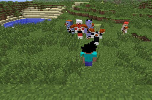 Saiyan Mod for Minecraft 1.0 screenshots 1