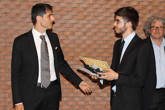 Photo: II premio: Tommaso Temperini, Liceo Classico Annibale Mariotti, Perugia