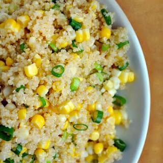 Quinoa with Corn and Scallions Recipe