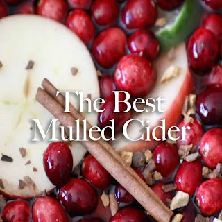 The Best Mulled Cider Ever.