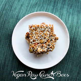 Vegan Raw Crunch Bars
