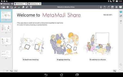MetaMoJi Note for Business 3- screenshot thumbnail