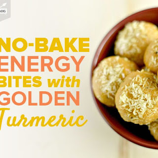 Golden Turmeric Energy Bites.