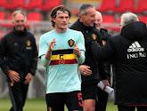 Daam Foulon (Waasland-Beveren) maakte zijn debuut in play-off 2