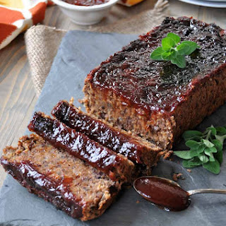 Smoky Southern-Style Meatless Meatloaf.