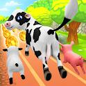 Pets Runner Game - Farm Simulator icon