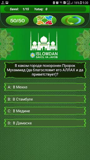 Islomdan Savol va Javob 9.6 screenshots 6