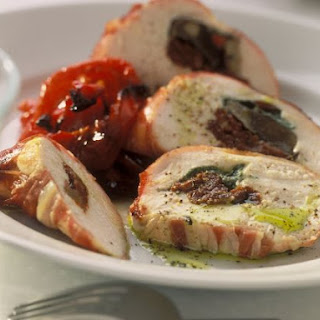 Sun Dried Tomato and Pesto Stuffed Chicken Breasts