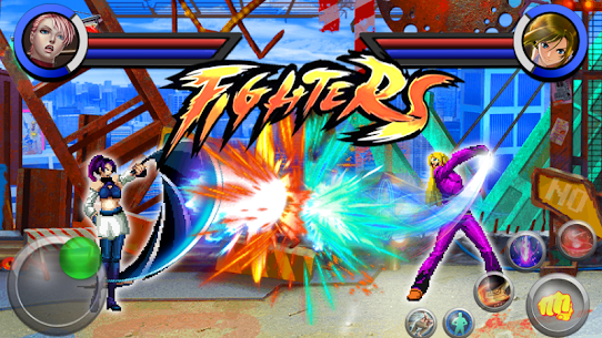The King Fighters of Kung Fu MOD (Unlimited Coins) 3
