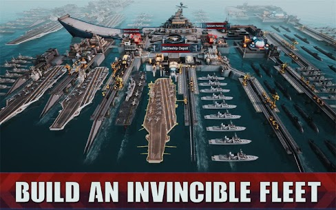 Battle Warship: Naval Empire 1.4.7.2 MOD APK (Unlimited Money) 4