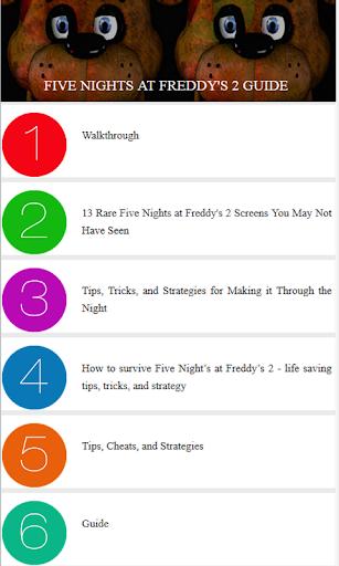 Best Guide for FNA Freddy 2