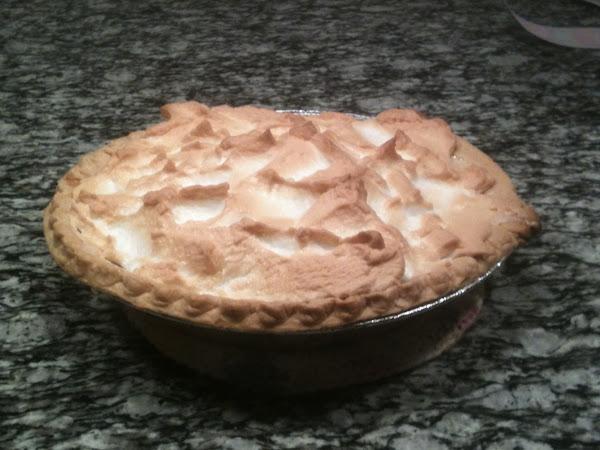 Mom's Rhubarb Custard Pie Recipe