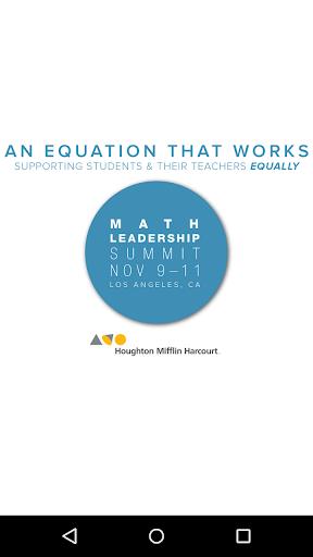 HMH Leadership Summits