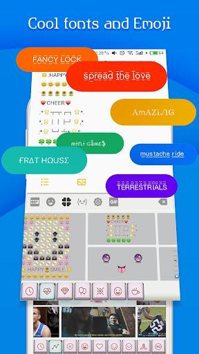 FancyKey Keyboard - Emoji, GIF 2.1 screenshots 4