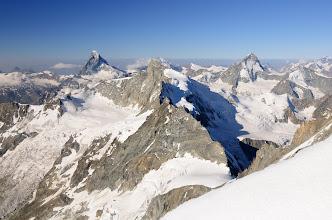 Photo: Matterhorn, Zinalrothorn, Schalihorn, Dent Blanche