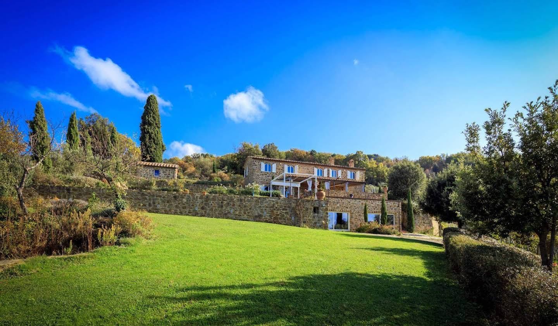 Villa avec jardin et terrasse Montalcino