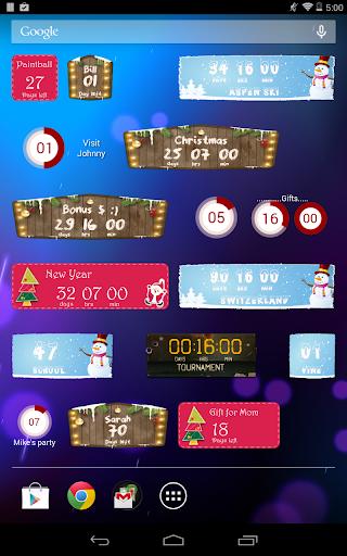 Countdown Widget screenshot 10