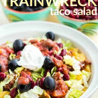 Trainwreck Taco Salad