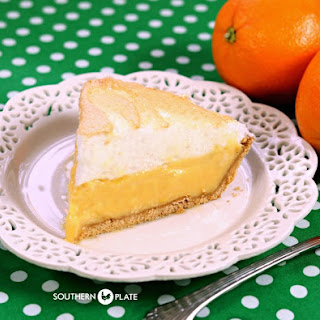 Orange Meringue Pie.