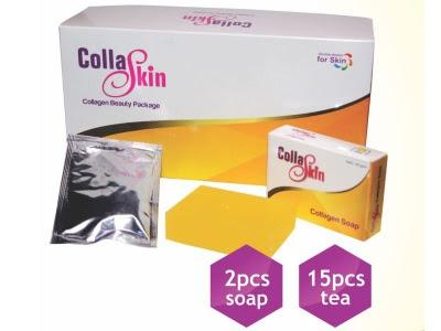 Paket Collaskin NASA original asli paket teh collagen sabun pemutih badan melembutkan melembabkan kulit