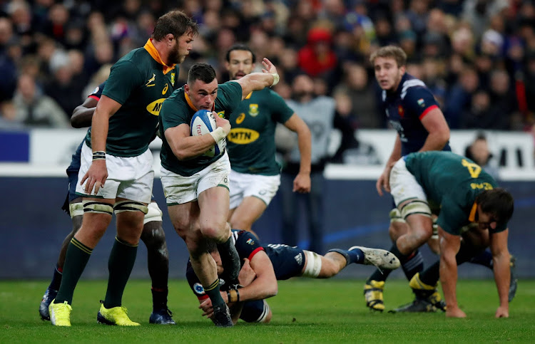 France vs South Africa - Stade de France, Saint-Denis, France - November 18, 2017 South Africa's Jesse Kriel in action.