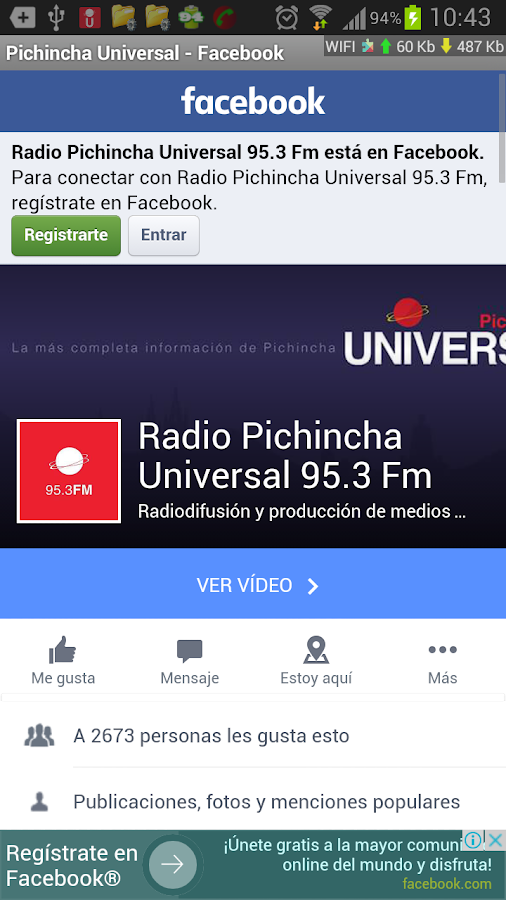 Radio Pichincha Universal- screenshot