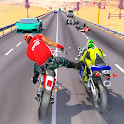 Moto Cross Madness: Crazy Bike Attack Game icon