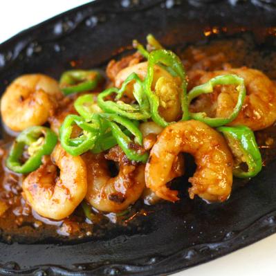 Garlic Shrimp | Gambas Rice Combo