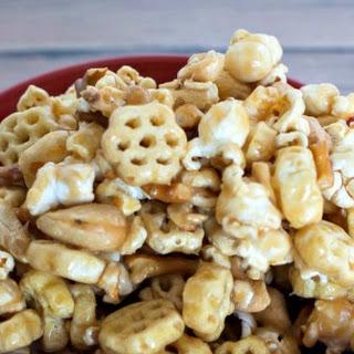 Caramel HoneyComb Snack Mix.