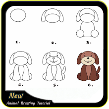 Animal Drawing Tutorial 1 0 latest apk download for Android