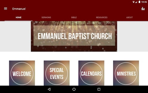 Emmanuel Baptist Church - MS- screenshot thumbnail