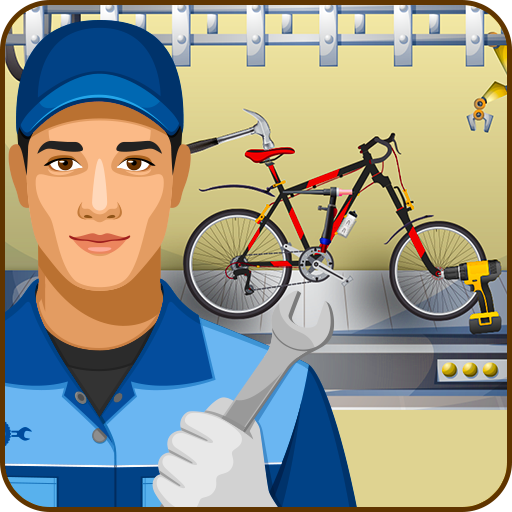 City Bicycle Factory Mechanics-Bicycle Maker Game