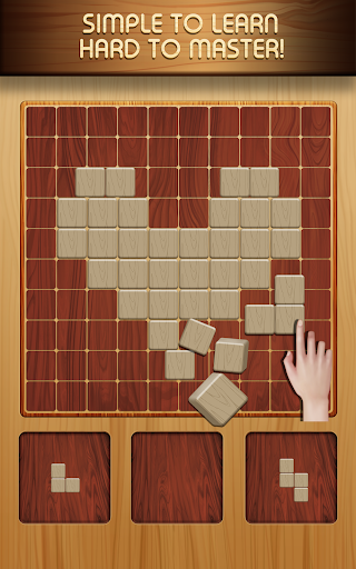 Block Puzzle Wood 1010: Classic Free puzzledom  screenshots 2